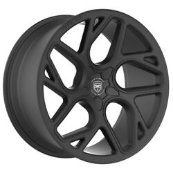 4 GWG BREMEN 20 inch Satin Black Rims fits CHEVY IMPALA 2000 - 2013