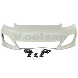 10-13 Panamera W/sport Front Bumper Cover Assembly Primed Po1000174 97050591126