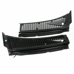 For Ford F250 F350 F450 Excursion Windshield Wiper Vent Cowl Screen Cover Panels