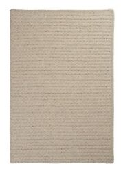 Natural Wool Houndstooth Cream Braided Area Rug/runner. Many Sizes. Hd31 Cream