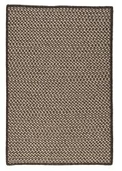 Natural Wool Houndstooth Espresso Braided Area Rug/runner. Many Sizes. Hd36