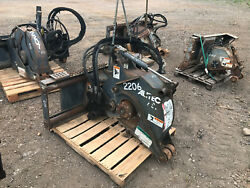 Alitec PS9 Road Saw Skid Steer Attachment Roadhog Bobcat CAT Zanetis
