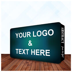 20and039x10and039 Tradeshow Display Fabric Wall Box Single Sided Pop Up Booth Backdrop