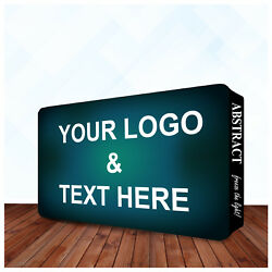 Tradeshow Display Fabric Wall Box 20and039 X 10and039 Double Sided Pop Up Booth Backdrop
