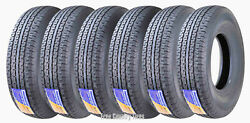 6 Premium Free Country Trailer Tires St235/85r16 Radial 12pr Lr F Steel Belted