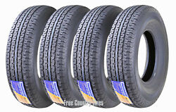 4 Premium Free Country Trailer Tires St235/85r16 Radial 12pr Lr F Steel Belted