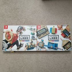 Nintendo Switch Labo Variety Kit Toy-con 01 And Vehicle Kit Toy-con 03