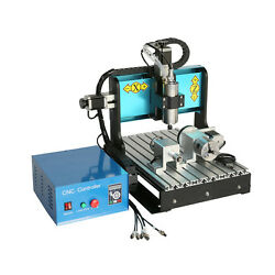 Efle 110v 800w 4 Axis Cnc 3040 Router Engraving Milling Machine Parallel Port