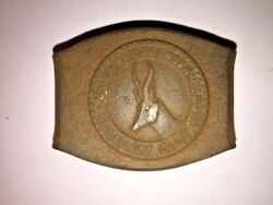 Union Is Strength Eendracht Maakt Macht South Africa Army Ww1 Antique Die Stamp