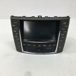2009 OEM Lexus IS250 Factory Navigation GPS Climate Control w Display S081