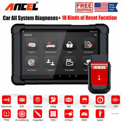 ANCEL X6 WiFi OBD2 Diagnostic Scanner ABS SRS EPB DPF Oil TPMS Tool with Tablet