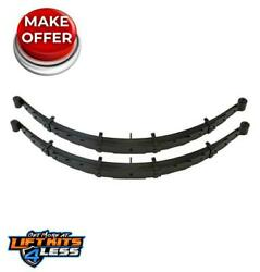 Readylift 47-2500 9-leaf 4 Progressive Rear Leaf Pack Pair For 09-19 F-250 Sd