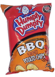 1 bag of Humpty Dumpty BBQ Potato Chips 7oz - A Maine Favorite Snack Food