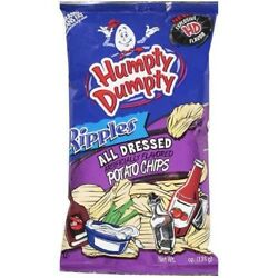 1 - 7oz Bag of Humpty Dumpty All Dressed Potato Chips -  A Maine Snack Food