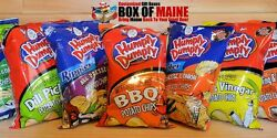 Humpty Dumpty Potato Chips - Assorted Flavor - 7oz Bag Pack of 6 - Free Shipping