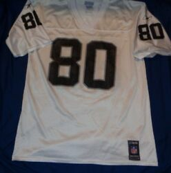 Authentic Team Replica Oakland Raiders Jerry Rice 80 Reebok Nfl Jersey Large
