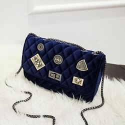 New Fashion Polyester Material Chain Shoulder Crossbody Bag For Girl