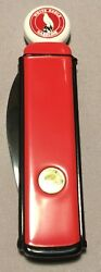White Eagle Gasoline Pump Official Franklin Mint Collector's Knife