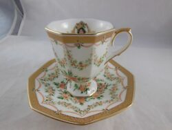 1994 Commemorative Avon Honor Society Tea Cup And Saucer W Stand And Cert Mib