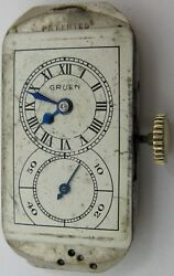 Gruen 877 S Doctor Watch Movement 15 Jewels And Dial For Project ...