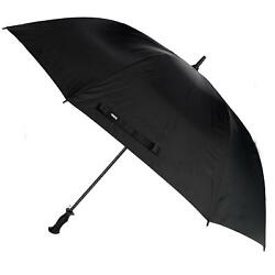 New Totes Auto Open Golf Stick Umbrella with Sun Protection