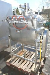 Paddle Blender Jacketed Stainless Steel 36 Long X 24 Wide X 30 Deep W/motor