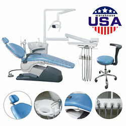 Dental Unit Chair electric valve Control TJ2688 A1 Hard leather w Doctor stool
