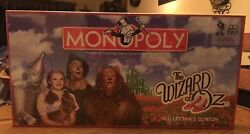 Monopoly The Wizard Of Oz Collectorand039s Edition Factory Sealed Pewter Tokens