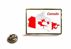 Canada Canadian Flag Map Lapel Pin Badge Tie Pin Gift