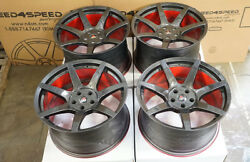 19 Project 6gr7 Carbon Hydro Dip Wheels Ford Mustang Shelby Gt350 Gt350r