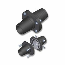 Th Marine Inline Scupper Check Valves Fits 1-1/2and039and039 Hose Ils-1500-dp