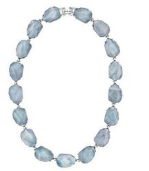 And Isabel Northern Mist Collar Necklace - N347bl - New In C + I Dust Cover