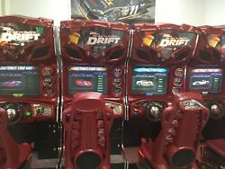 Fast & Furious Drift  Coin Operated Driving Games 4 Games Linked