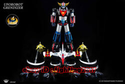 King Arts Dfs067 Ufo Robot Grendizer Vip Edition With Ufo Diecast Action Figure