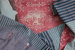Valance Antique French 18th Century Bed Pelmet Stunning Resist Dyed 18.25and039