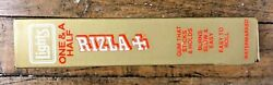 Vintage 1980 Cigarette Rizla 1 1/2 Lights Box Of 24 Rolling Papers Rice Nos Htf