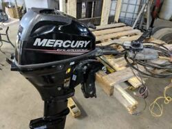 2013 Mercury 20hp 20 hp 4 stroke outboard long shaft cable steer controls