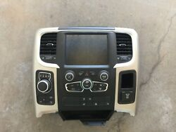 2014 2015 2016 DODGE RAM 1500 2500 3500 RADIO BEZEL WITH CLIMATE (FULL CONSOLE)