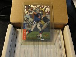 1993 Upper Deck SP Football Set. Stored in climate controlled environment.