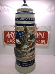 Rare Harley Davidson 100th Anniversary Collectible Large Stein 27 Of Only 200