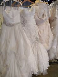 Lot of 30 Designer Bridal Gown Inventory. Start Your Own STORE!!