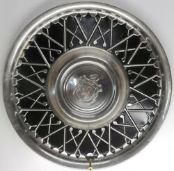 1940and039s Thru 1950and039s Lyon 15 Inch Hubcap Wheel Cover Aftermarket P/nand039s 297116