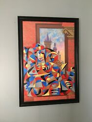 Anatole Krasnyansky Color Serigraph Signed Numbered Abstract Artwork 217/495