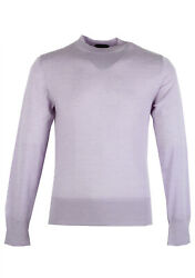 New Tom Ford Lilac Crew Neck Sweater Size 48 / 38r U.s. In Cashmere Sweater