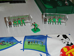 Vintage 2 X Subbuteo Substitute Bench 61139  Black Friday Christmas