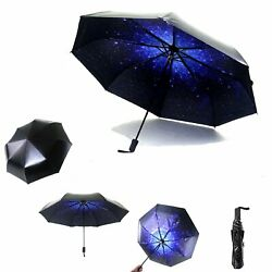 Sun&Rain Travel Umbrella - Compact Mini Totes Umbrella with 99% UV Protection L
