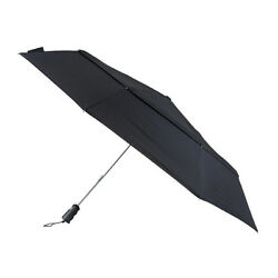 Totes Big Top Auto Golf Double Canopy Umbrella - Black