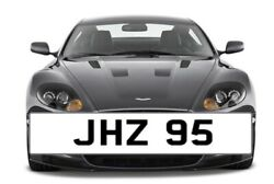 Jhz 95 Cherished Number Plate