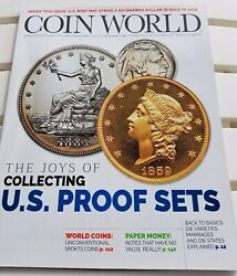 Coin World Magazine October Oct 2018 Proof Sets + Us Index Of Coin Values Toc
