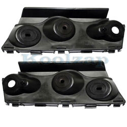 14-19 Chevy Impala Front Bumper Outer Retainer Mounting Brace Bracket Set Pair